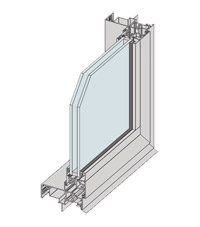 Thermally Broken Bi-fold Door