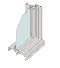 Clear VENT Double Hung Windows
