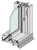 Commercial Double Hung Window