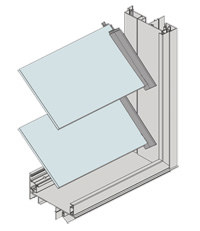 LouvreMASTER Adjustable Louvre Window